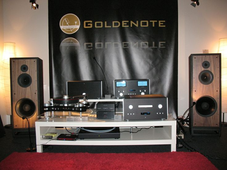 Goldnote Vorführung auf der High End 2012