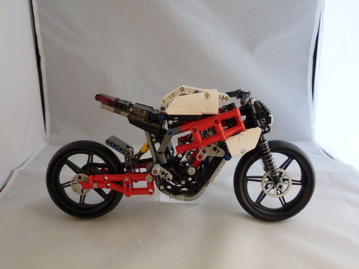 12 Best Lego Motor Images On Pinterest Lego Technic Motorcycle