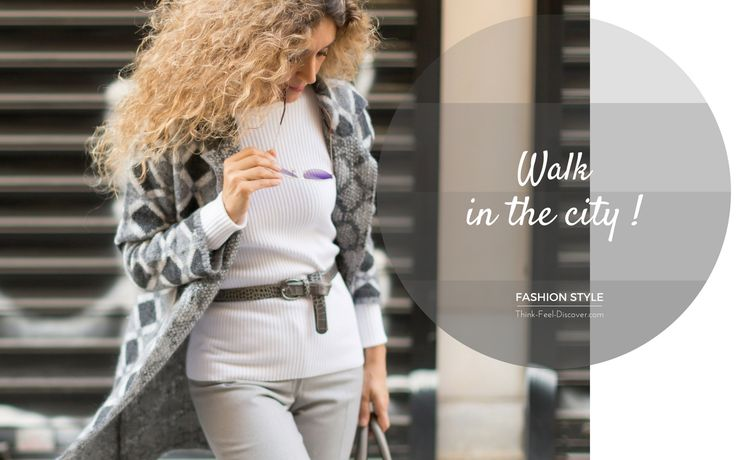 Walk in the city!  Let's be open-minded and look cool!  Life goes on! #Fashion #Style #CityLook