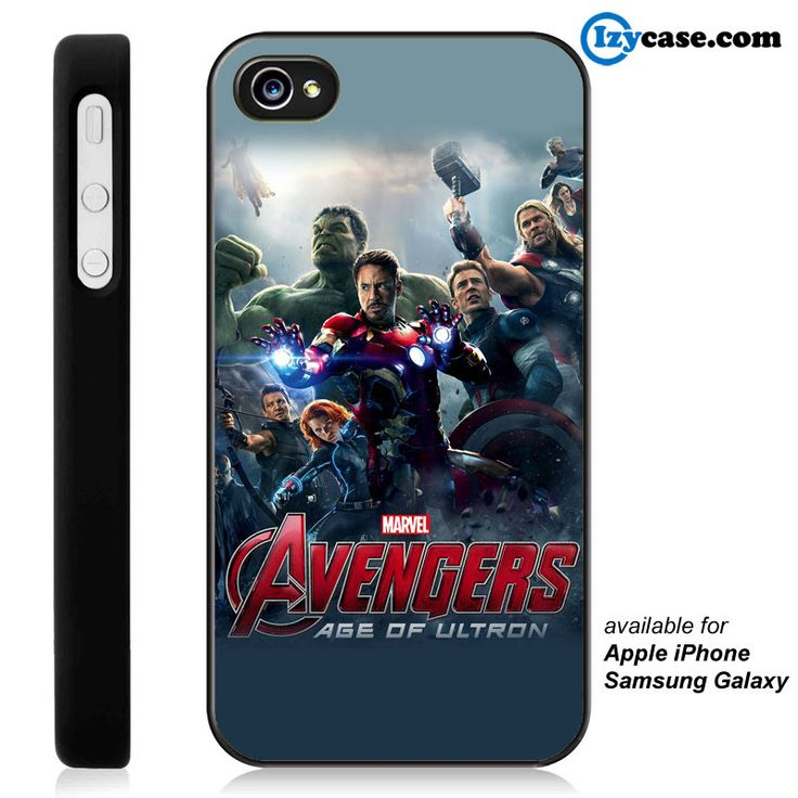 The Avengers Personil Phone Case | Apple iPhone 4/4s 5/5s 5c 6 6 Plus Samsung Galaxy S3 S4 S5 S6 S6 Edge Hard Case