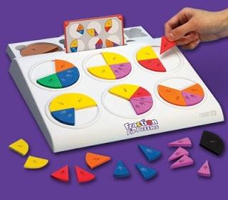 Het is belangrijk dat kleuters op spelenderwijze al in aanraking komen met begrippen als #delen en #breuken van hoeveelheden en #getallen.  Voor kinderen kunnen optellen en aftrekken met breuken, hebben ze veel speeltijd nodig met deel- en breukspelletjes.