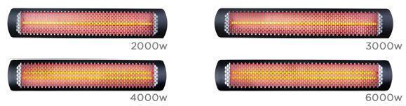 Tungsten Smart-Heat électrique.  Bromic Outdoor heater / Outdoor heating #outdoor #heating #heater #design #electric