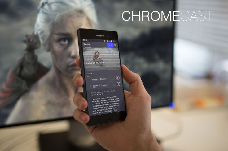 Our Project for Chromecast.