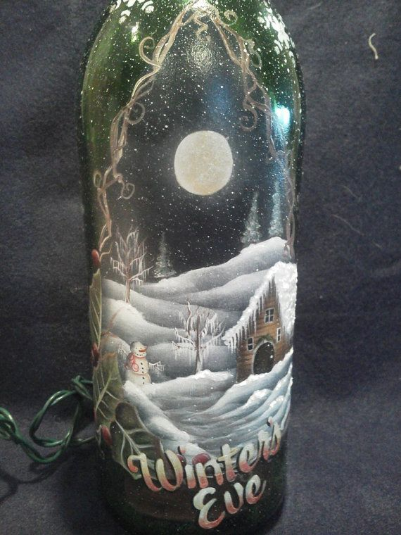 1000+ images about Holiday Glass Painting Ideas on Pinterest