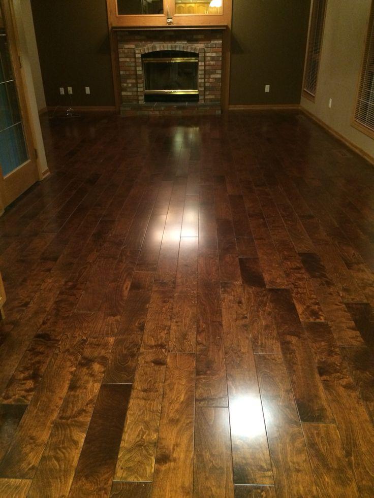 Love love love my new floor!! Lemon Vanilla Birch