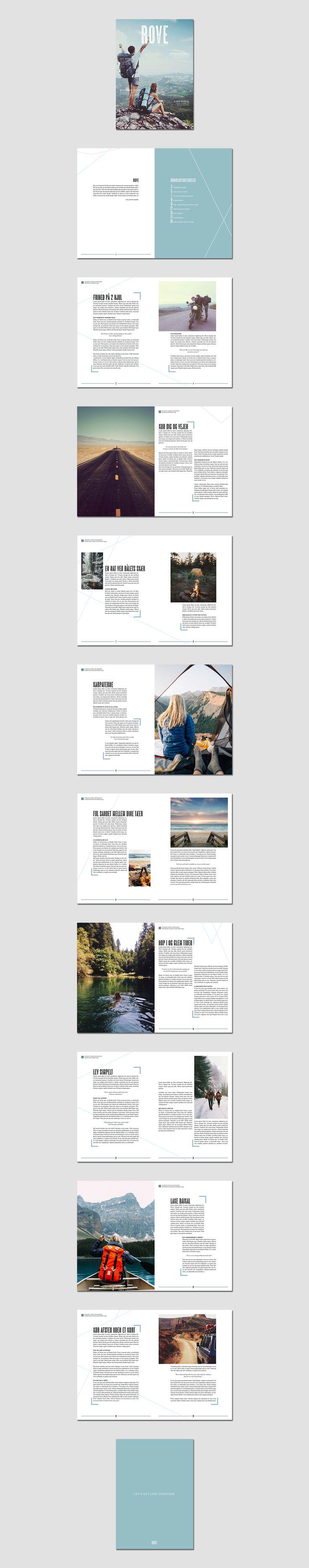 Magazine. Design & Layout by Kia Lange.
