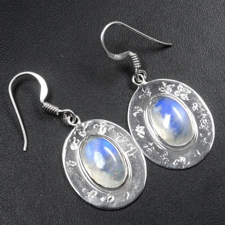 Fine 925 Sterling Silver High Quality Top Moonstone Earrings Jewelry sve0198 $ #Notspecified