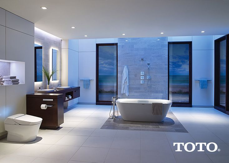 TrendAlert  Walk in glassless showers give your bathroom a modern appeal   How. 44 best images about TOTO for the Whole Bathroom on Pinterest