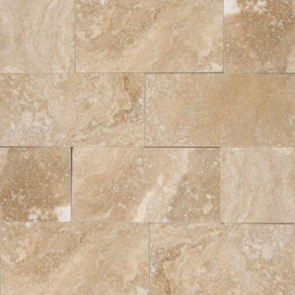 Tuscany Ivory 3x6 Honed Beveled Subway Tile Travertine Tile Stone Look Tile
