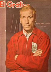 Sir Bobby Charlton at the 1994 FIFA World Cup Final Draw