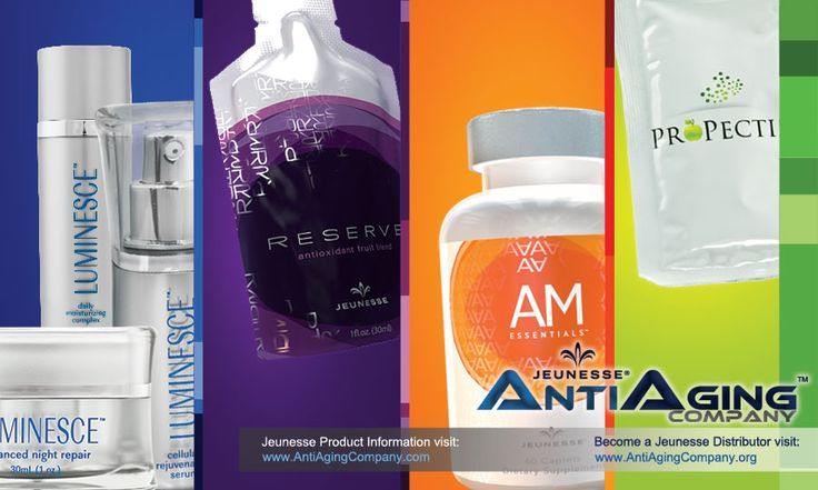 *The Jeunesse Global Anti-Aging Products are gaining serious momentum!* my savvy (physician brother & wife) highly recommend [Jeunesse products] for wonderful results. It really works...