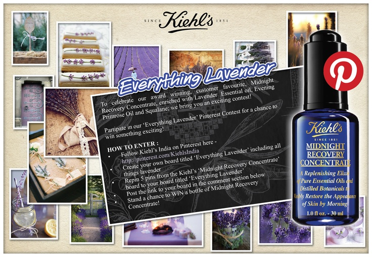 #PinterestContest  Send us the link to your 'Everything Lavendar' board here : http://on.fb.me/VHLJSZ