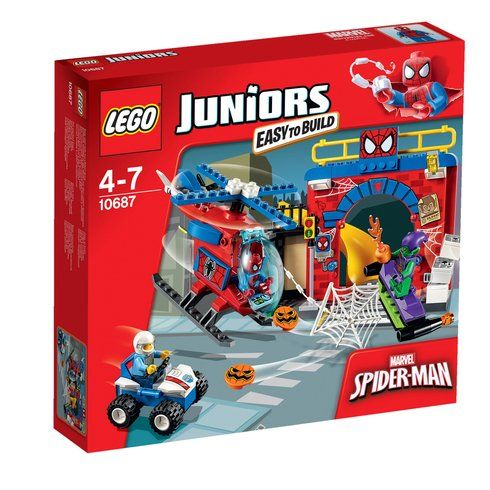 Superb LEGO Juniors Marvel Super Heroes Spider-Man Hideout 10687 Now At Smyths Toys UK! Buy Online Or Collect At Your Local Smyths Store! We Stock A Great Range Of Spider-Man & Marvel Legends At Great Prices.