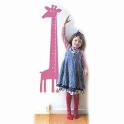 Højdemåler - pink giraf