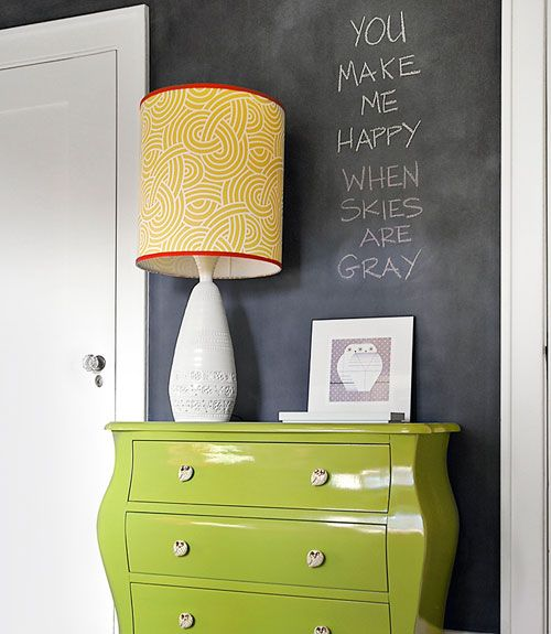 17 Best Ideas About Chalkboard Paint Walls On Pinterest
