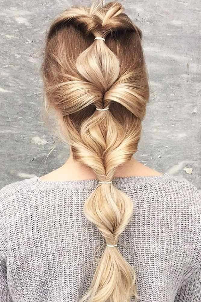 Suchen Sie nach schnellen und einfachen Frisuren, die Ihren Morgen weniger beschäftigt und stressig machen können? Wir haben uns für einfache und schnelle Frisuren entschieden. #Diyhairstyl