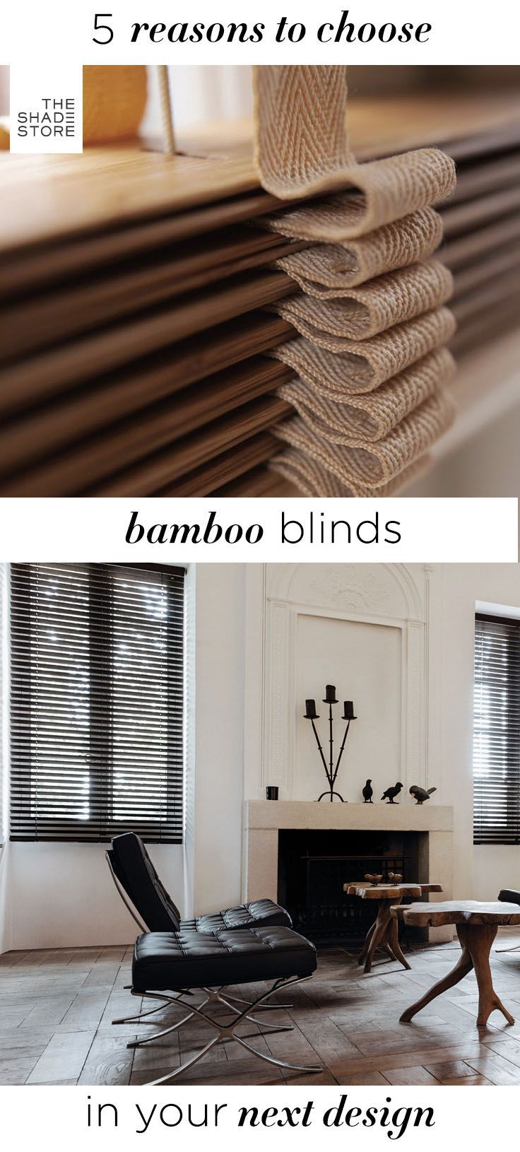 Best 25+ Bamboo blinds ideas on Pinterest | Room window, Bamboo shades and  Blinds