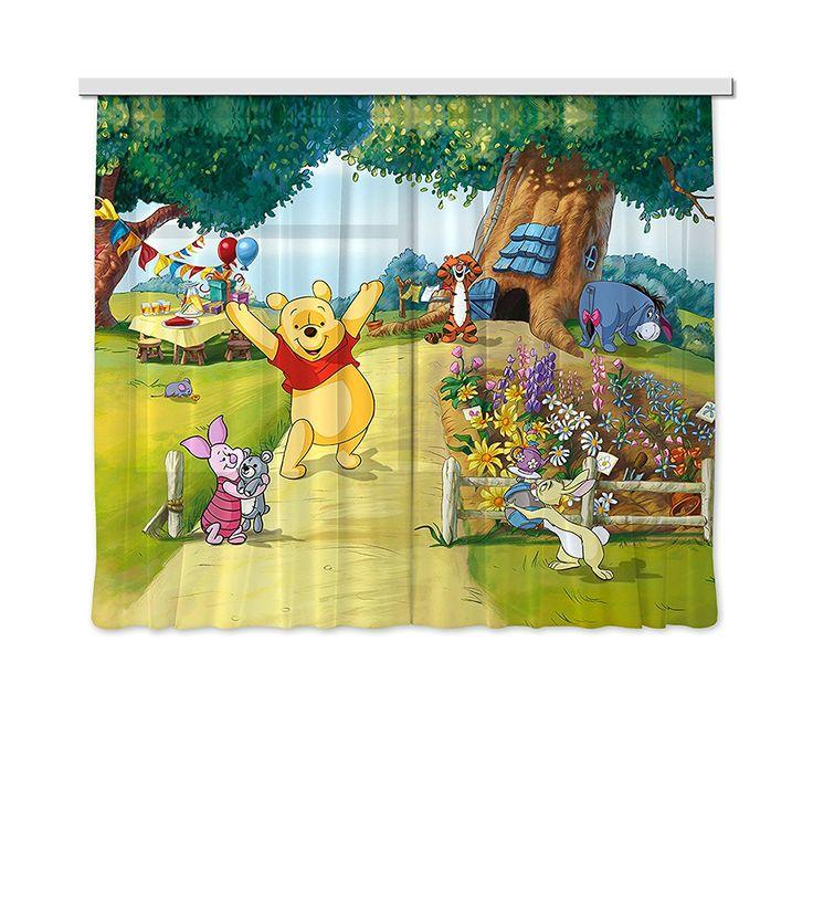 Winnie Pooh Vorhänge für das Kinderzimmer Winnie the