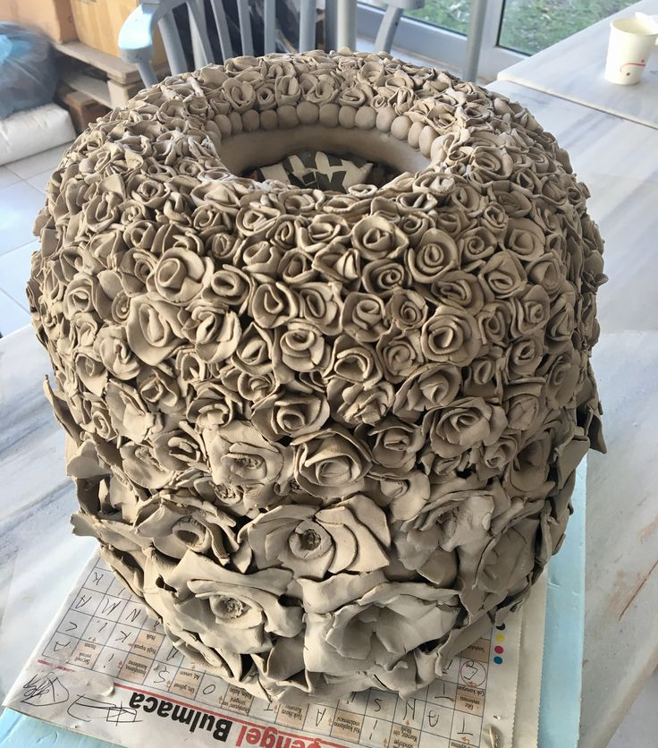Rose ceramic by nesrin aktaş