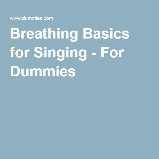 singing for dummies pdf free download
