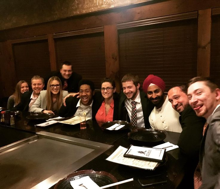 All you can eat sushi  and hibachi to say goodbye and good luck to a great friend. We miss you already Manveer! Safe travels  back to Malaysia. #tmbusinesssolutions