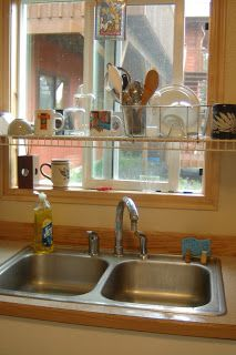 Oh, the projects you'll do: Dish Drying Rack VS the Counter Top