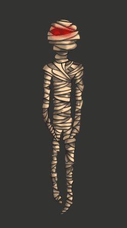 Mummy- Death aniamtion by BlueBitArt