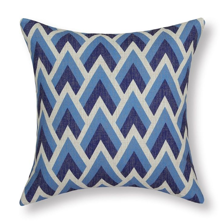 Blue Geometric Throw Pillows : 17 Best ideas about Blue Cushion Covers on Pinterest Blue cushions, Diy pillows and Pillow ideas