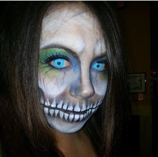 Halloween make up by Teresa Heath,