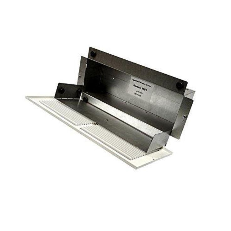 135 in steel wall register safe white with removable
