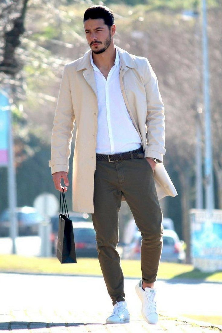 How to wear long coats for men