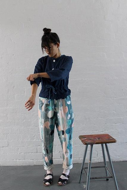 Harvest Textiles and Beattie Lanser Collaboration   www.harvesttextiles.com.au