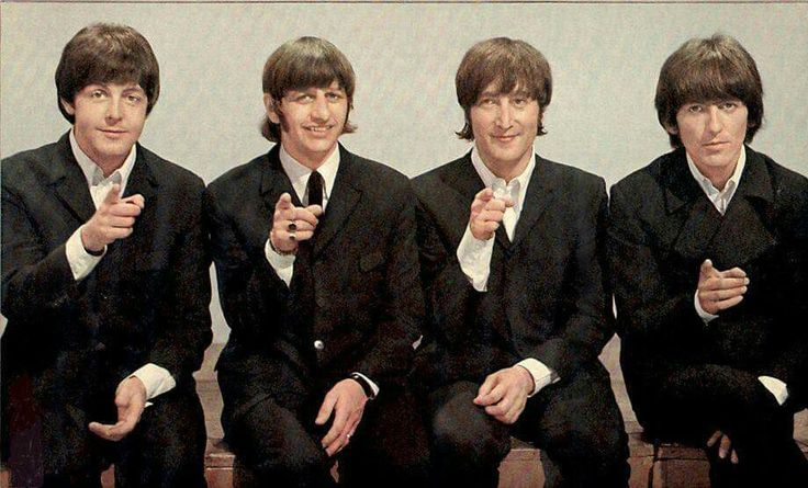 Paul, Ringo, John and George