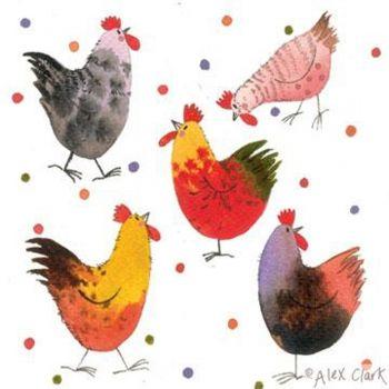 Dotty Chickens | Alex Clark