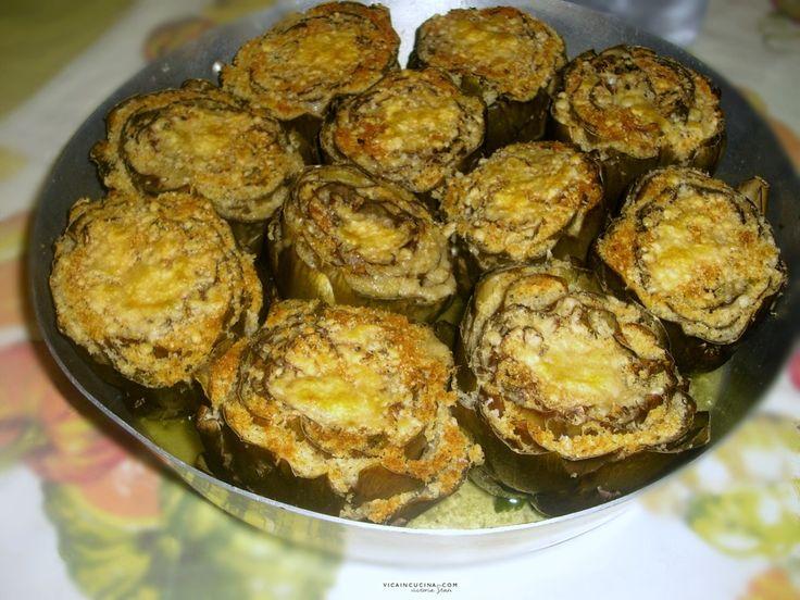 Stuffed Artichokes Sicilian Style @vicaincucina