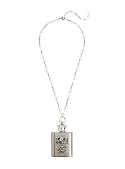 Supernatural Holy Water Flask NecklaceSupernatural Holy Water Flask Necklace,