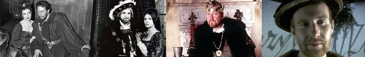 """Cultural depictions of Henry VIII   Disneyland: """"The Prince and the Pauper"""" Paul Rogers Henry VIII John Stride Henry VIII Ray Winstone Henry VIII: Mind of a Tyrant Laurence Spellman"""