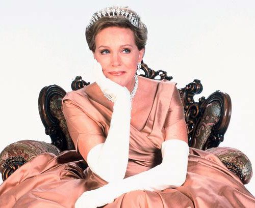 "THE QUEEN ~ Julie Andrews starred in the Garry Marshall movie, ""The Princess Diaries""."
