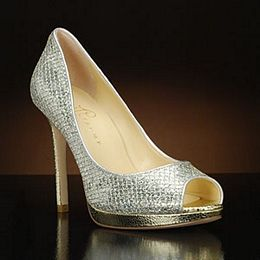 Shop designer Ivanka Trump wedding shoes at My Glass Slipper.