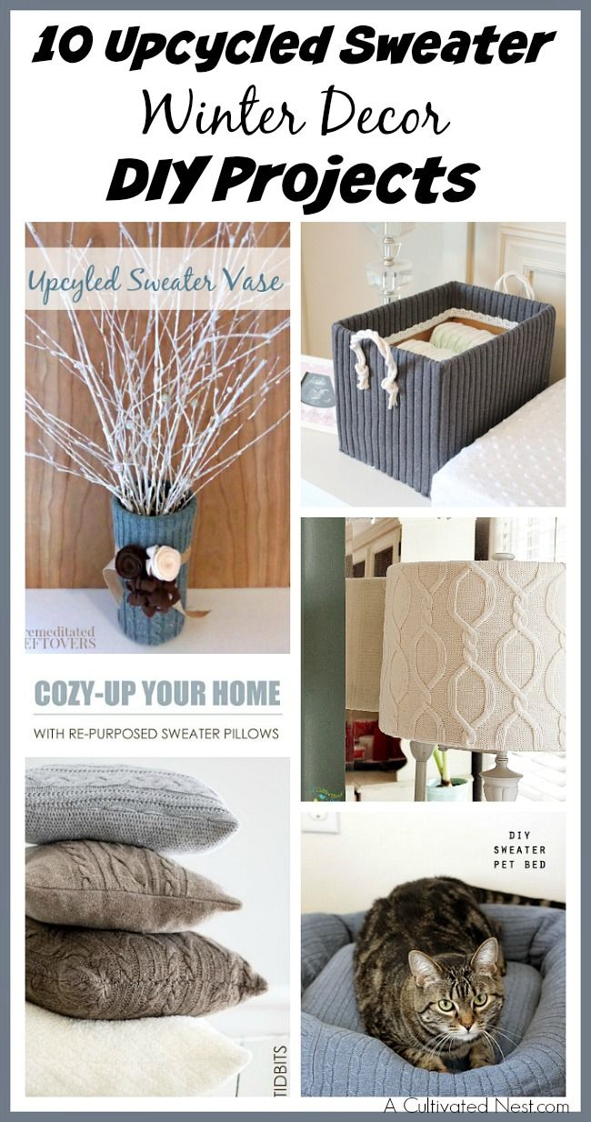 1565 best upcycle repurpose ideas images on pinterest for Best upcycled projects
