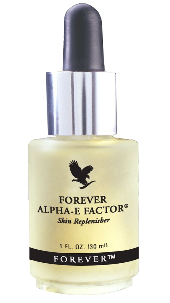 Forever Living - Forever Alpha-E Factor. The most versatile skin product that replenishes, clarifies and balances the skin to reduce dryness, with a powerful combination of antioxidants, leaving younger looking skin. Also exceptional as a skin nourisher and shaving barrier.