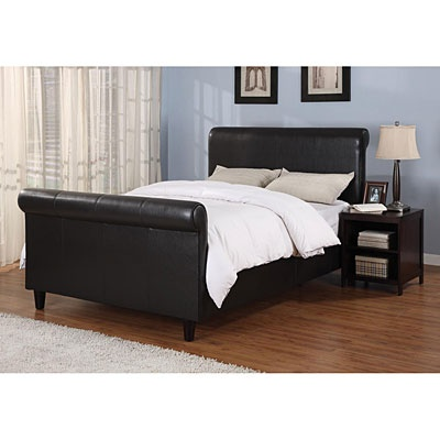 big lots headboards upholstered complete sleigh bed at big lots home 10836