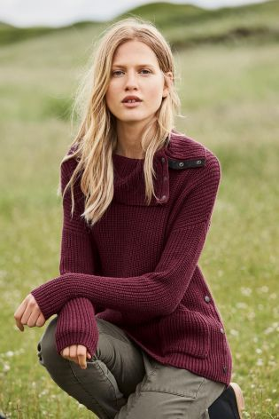 Buy Berry Popper Sweater from the Next UK online shop