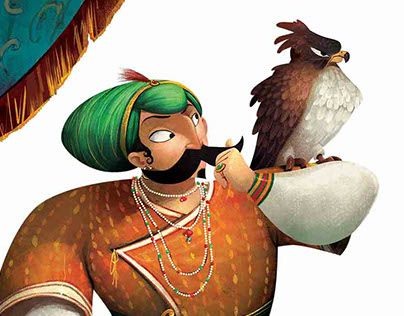 """Check out new work on my @Behance portfolio: """"The Royal Maharaja"""" http://be.net/gallery/33447793/The-Royal-Maharaja"""