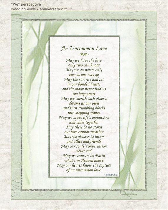 Poems For Wedding Ceremonies: My Most Popular Poem For Weddings, Commitment Ceremonies