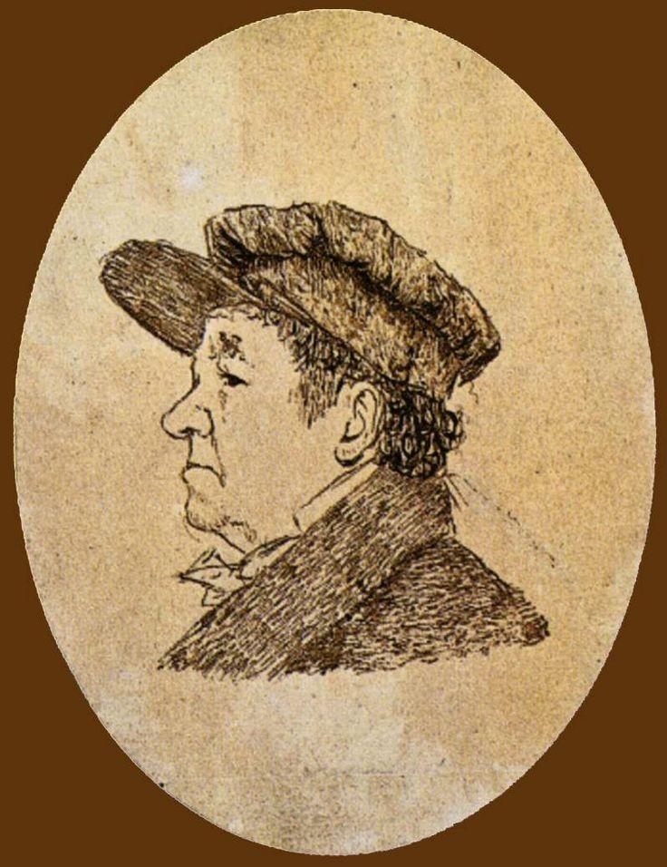 Αυτοπροσωπογραφία 78 ετών (1824)