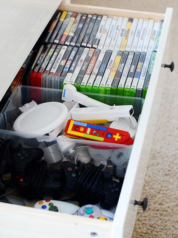 15 Cool Ways To Video Game Controller Storage
