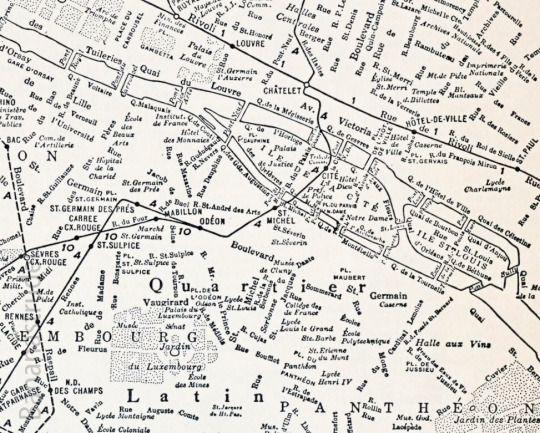 Paris. Detail