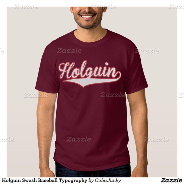 Tipografía del equipo de béisbol de Holguin. Baseball, Cuba. Producto disponible en tienda Zazzle. Vestuario, moda. Product available in Zazzle store. Fashion wardrobe. Regalos, Gifts. Beisbol. Baseball. Link to product: http://www.zazzle.com/tipografia_chapoteante_del_beisbol_de_holguin_remera-235216532340498248?lang=es&design.areas=[zazzle_shirt_10x12_front]&color=maroon&view=113083556601716944&CMPN=shareicon&social=true&rf=238167879144476949 #remera #camiseta #tshirt #holguin #cuba