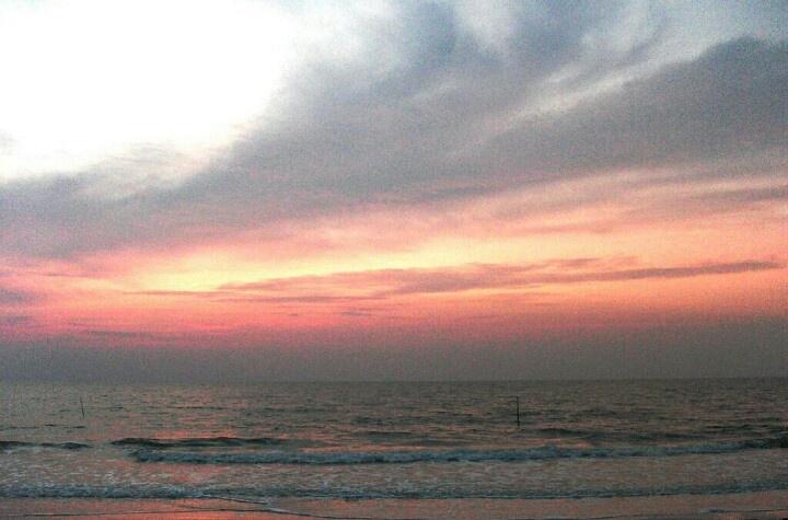 Sunrise at Teropong Beach, Belitung